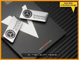 Mercedes Koltuk Döşeme Logo Amblem Seti