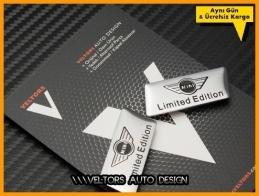 Mini Limited Edition Koltuk Döşeme Logo Amblem Seti