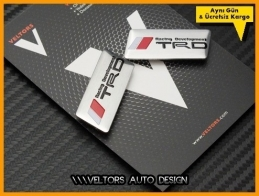 Toyota TRD Koltuk Döşeme Logo Amblem Seti