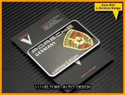 Porsche Limited Edition Plaket Logo Amblem