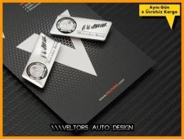 Mercedes AMG Koltuk Döşeme Logo Amblem Seti