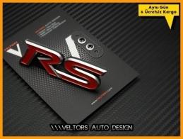 Ford RS Ön Izgara Logo Amblem Seti