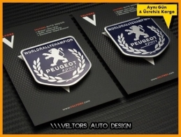 Peugeot Sport Europe Logo Amblem Seti