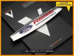 Ford Racing Performance Torpido Kokpit Logo Amblem