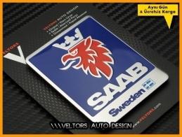Saab Araç Serisi  Plaket Logo Amblem