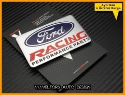 Ford Racing Performance Plaket Logo Amblem
