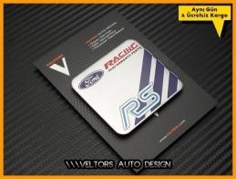 Ford RS Racing Performance Plaket Logo Amblem