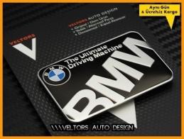 BMW Ultimate Machine Plaket Logo Amblem