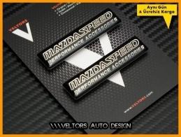 Mazda Speed Body Logo Amblem Seti