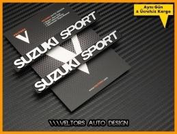 Suzuki Sport Logo Amblem Seti