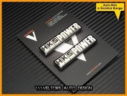 Honda HKS POWER Body Logo Amblem Seti