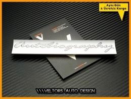 Land Rover Autobiography Logo Amblem