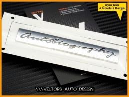 Range Rover Orjinal Autobiography Bagaj Yazı Logo Amblem