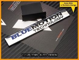 VW Bluemotion Ön Izgara Logo Amblem