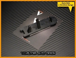 VW Gti Ön Izgara Logo Amblem