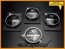 BMW Hamann Logo Amblem Jant Göbeği Göbek Kapak Seti