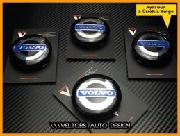 Volvo Logo Amblem Jant Göbeği  Göbek Kapak Seti