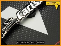 Mercedes Carlsson Logo Amblem Özel Krom Carlsson Anahtarlık