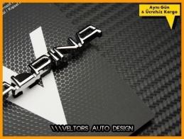 BMW Alpina Logo Amblem Özel Krom Alpina Anahtarlık
