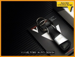 Audi The Originality Q5 Logo Amblem Anahtarlık