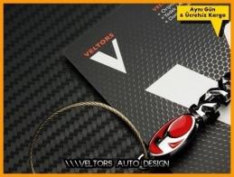 Kymco Logo Amblem Özel Krom Kymco Anahtarlık
