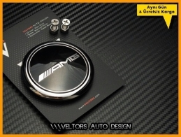 Mercedes AMG Yeni Nesil Logo Amblem Bagaj Yıldız