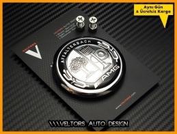 Mercedes AMG Logo Amblem Bagaj Yıldız