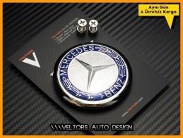 Mercedes Bagaj Yıldızı Logo Amblem
