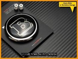 Mercedes Brabus Bagaj Yazı Logo Amblem