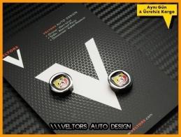 Fiat ABARTH Anahtarlık Kumanda Logo Amblem Seti
