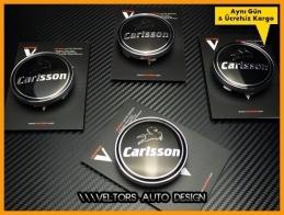 Mercedes Carlsson Logo Amblem Jant Göbeği Göbek Kapak Logo Amblem Seti