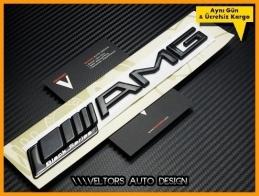 Mercedes AMG Black Series Bagaj Yazı Logo Amblem