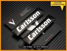 Mercedes  Carlsson Logo Amblem Seti