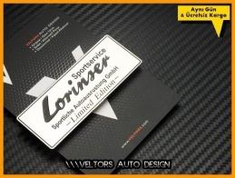Mercedes Lorinser Plaket Logo Amblem