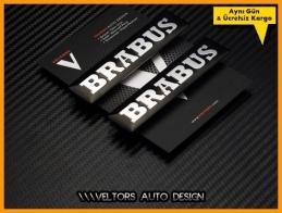 Mercedes Brabus Yan Logo Amblem Seti