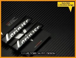 Mercedes Lorinser Logo Amblem Seti