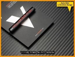 Audi Quattro Bagaj Yazı Logo Amblem