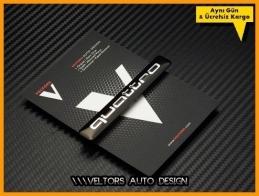 Audi Quattro Torpido Kokpit Logo Amblem