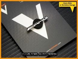 Mercedes AMG Direksiyon Logo Amblem