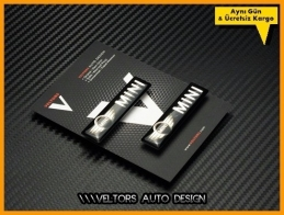 Mini Body Araç Logo Amblem Seti