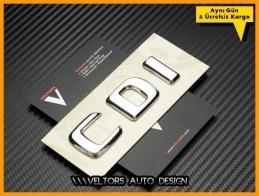 Mercedes CDI Bagaj Yazı Logo Amblem