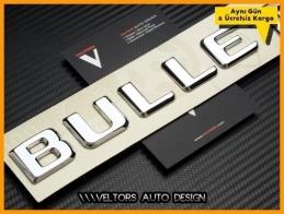 Mercedes BULLET Bagaj Yazı Logo Amblem