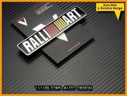 Mitsubishi Ralli Art Plaket Logo Amblem