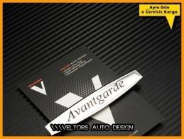 Mercedes Avantgarde Torpido Kokpit Logo Amblem