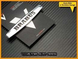Mercedes Brabus Torpido Kokpit Plaket Logo Amblem