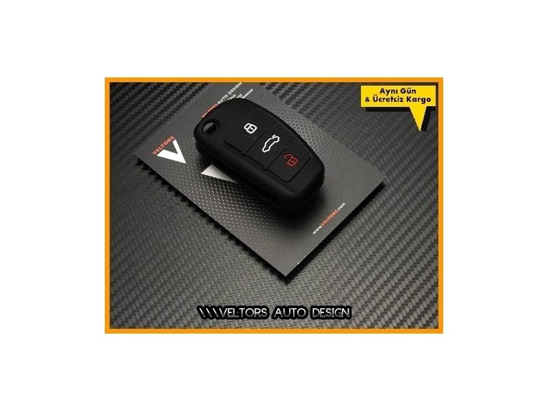Audi A3 A4 A6 A8 Q7 TT Kumanda Anahtar Koruma Kabı Kılıfı