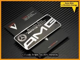 Mercedes AMG Edition Plaket Logo Amblem