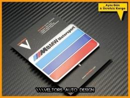 BMW M Motorsport Plaket Logo Amblem