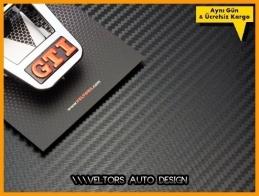 VW Gti Direksiyon Logo Amblem