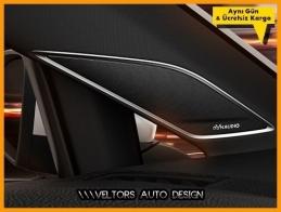 VW DYNAUDIO Stereo Hoparlör Logo Amblem Seti